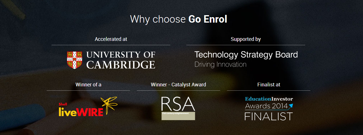 Why choose Go Enrol